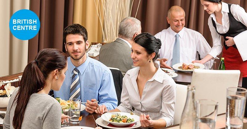 Restoranlar üçün 10 ingilis dilində kəlimə-British-Centre