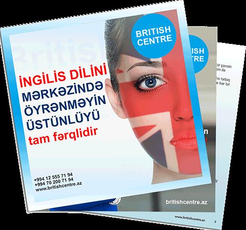BRITISH CENTRE Ingilis Dili Kursları Broshur