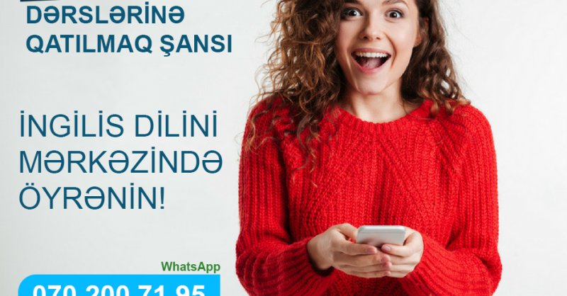 Hər Həftə Yeni Elementary, Beginner, Pre-İntermediate Və İntermediate Qurpuları Yaranmaqdadır.
